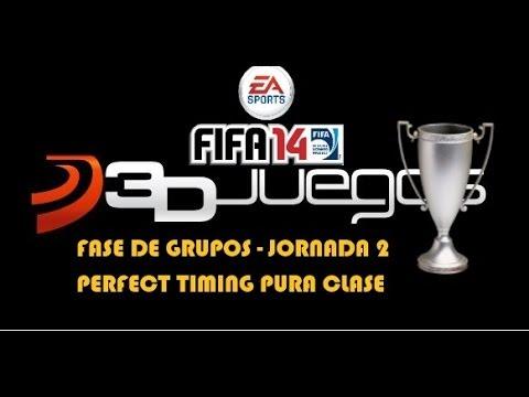 Fifa 14 I Torneo 3djuegos I Fase De Grupos I Perfect Timing Vs Pura