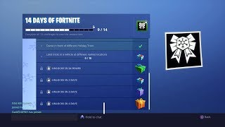 Unlocking New Gift 9th Day Of 14 Days Of Fortnite