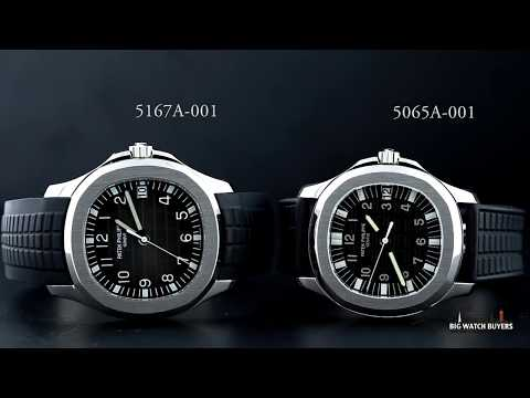 Patek Philippe Aquanaut Ref 5065a 001 And 5167a 001 Stainless