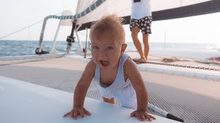BOAT LIFE: A Day in the Life of a BABY Onboard!