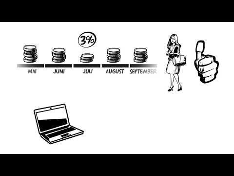 Explanideo erklärt für die Commerz Finanz die Cash Card mit einem DIGITAL CUT-OUT Erklärvideo