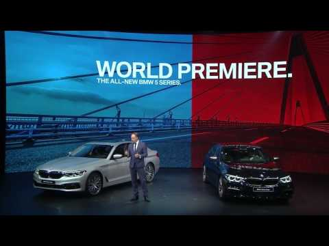Watch the BMW Group Press Conference at the North American International Auto Show