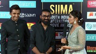 Rahul Ramakrishna And Priyadarshi Fun At Red Carpet   SIIMA 2019  