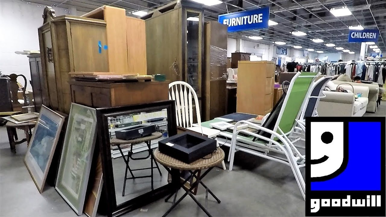 The Goodwill Store Spring 2019 Furniture Home Decor Shop With Me