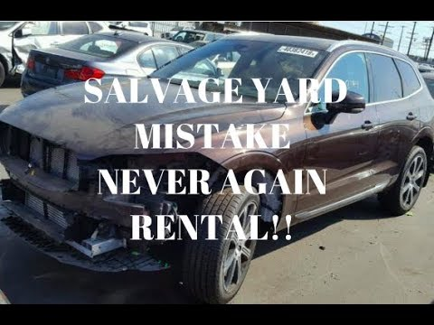 Are you thinking of buying used car from COPART OR IAAI ??  | be aware Of rental cars