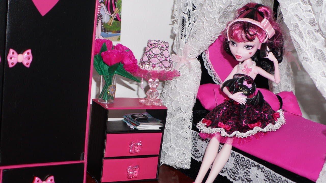 Como Fazer Mesa De Cabeceira Para Boneca Monster High