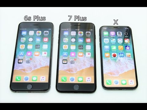 iphone x vs iphone 6s