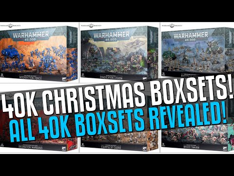 All 40K Christmas Boxsets FINALLY REVEALED!