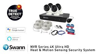 Swann 8MP SWNVR-88580 2TB 8 Channel IP Network Video Recorder for 5MP & 8MP Cams video