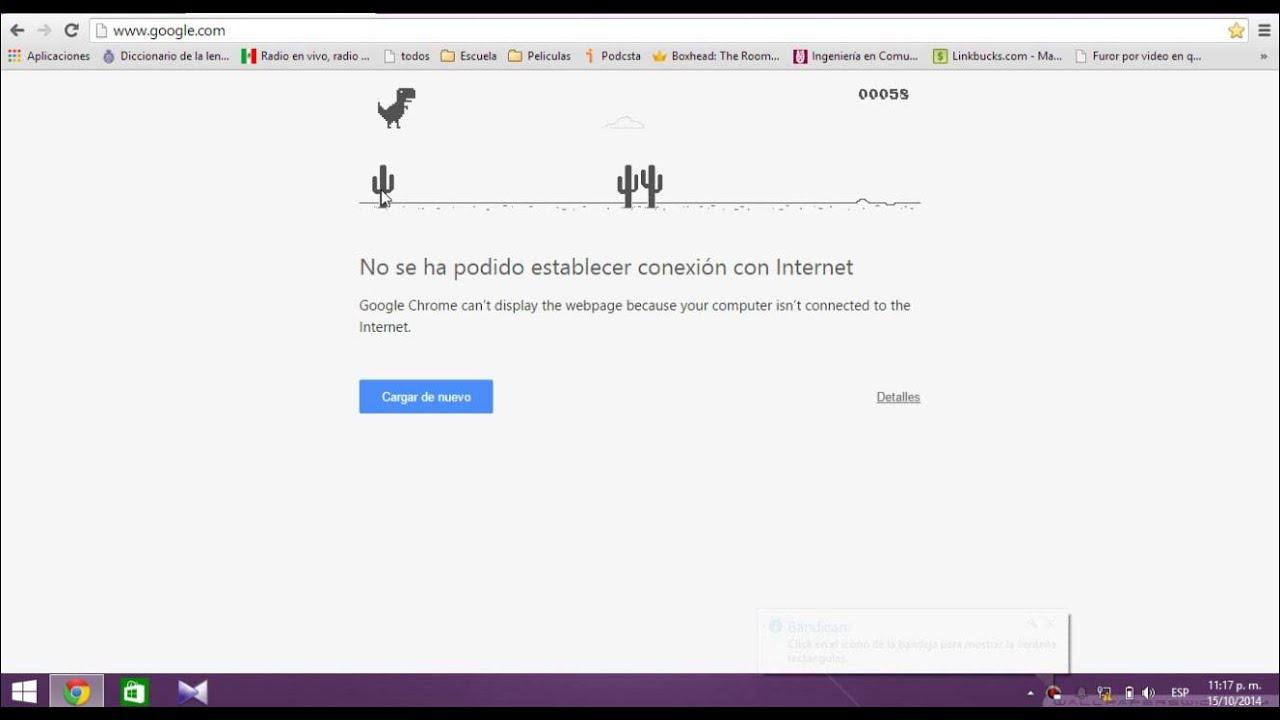Juego Oculto De Google Chrome 0 Youtube