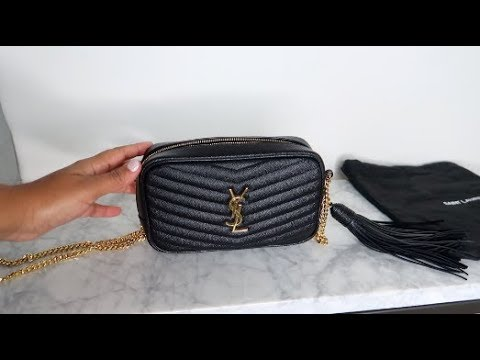 Saint Laurent Ysl Lou Mini Bag In Matelasse Leather Luxury Review Youtube