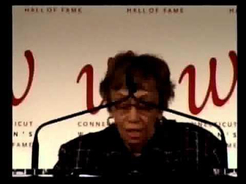 2008 Annual Induction Ceremony,  Jewel Plummer Cobb Acceptance Speech