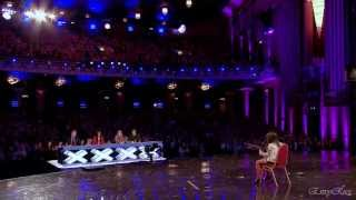 Lauren Thalia - Turn My Swag On @ Britain's Got Talent 2012 Auditions