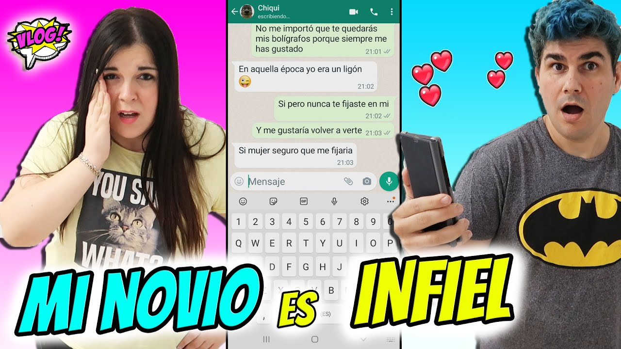 Download ME ENFADO CON MI NOVIO!  DESCUBRO QUE ME ENGAÑA 😓 Veo conversaciones en su  teléfono con otra