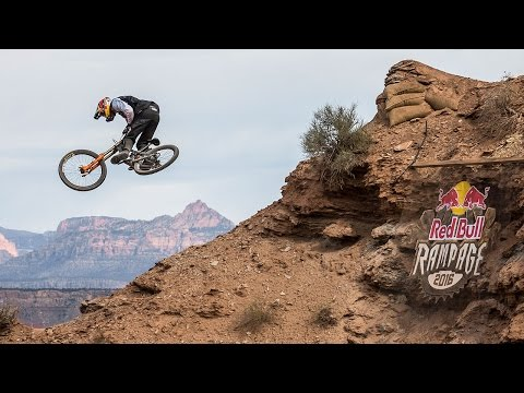 Tommy G's Fast and Flowy Line from Red Bull Rampage 2016