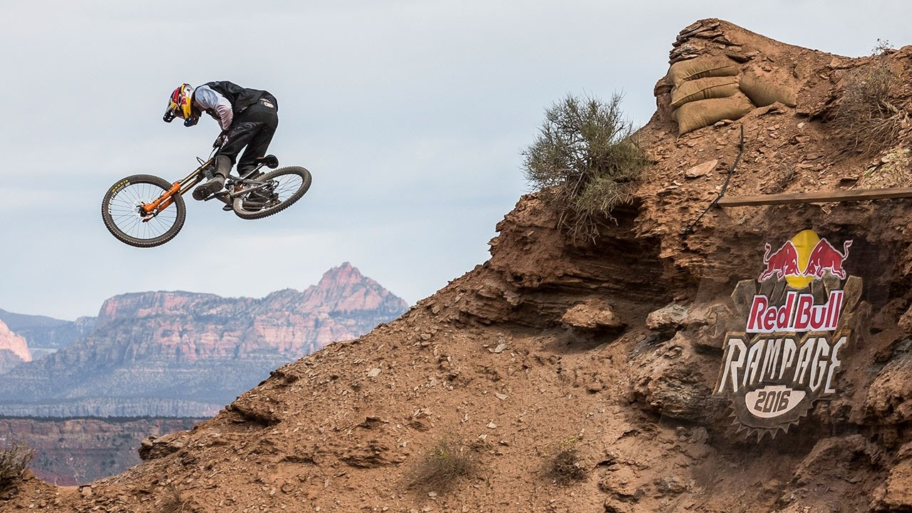 Hd Wallpaper Girl Bike Thomas Genon S Fast And Flowy Line From Red Bull Rampage