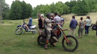 Motocross bemutató 5 - Bárdudvarnok Falunap 2017 video