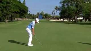 Jimmy Walker Iron Golf Swing Slow Motion