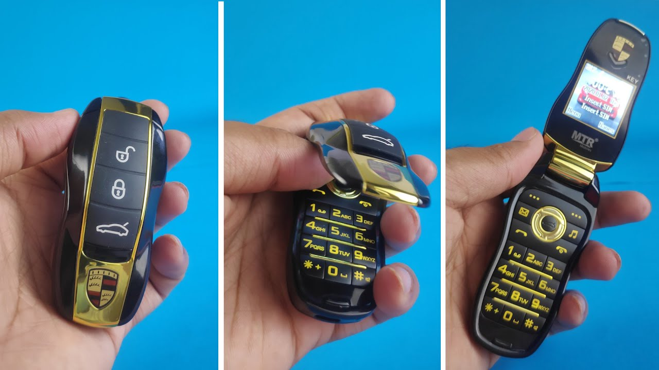Turn Porsche Car Key Into Mobile Phone   Products You Must See