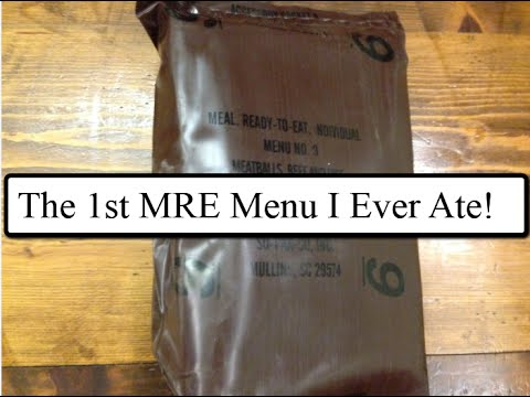 MRE Review: Gundogs very first MRE during Basic Training