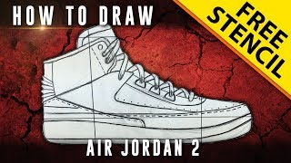 How To Draw: Air Jordan 2