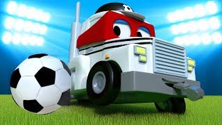 Carl le Super Truck -  Spécial FIFA - le camion arbitre - La Ville des Voitures 🚓 🚒 Dessin animé