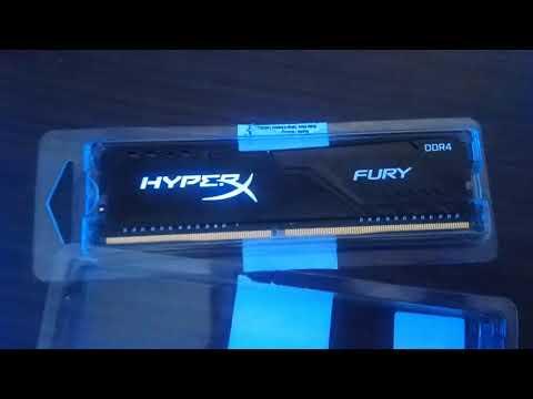 Оперативна пам'ять HyperX DDR4-3200 8192MB PC4-25600 Fury Black (HX432C16FB3/8)