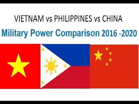 VIETNAM vs PHILIPPINES vs CHINA || Military Power Comparison 2016 -2020