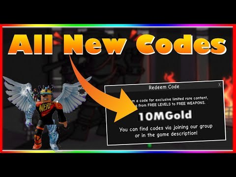 *ALL* New INFINITY RPG Codes! (2020)  |ROBLOX