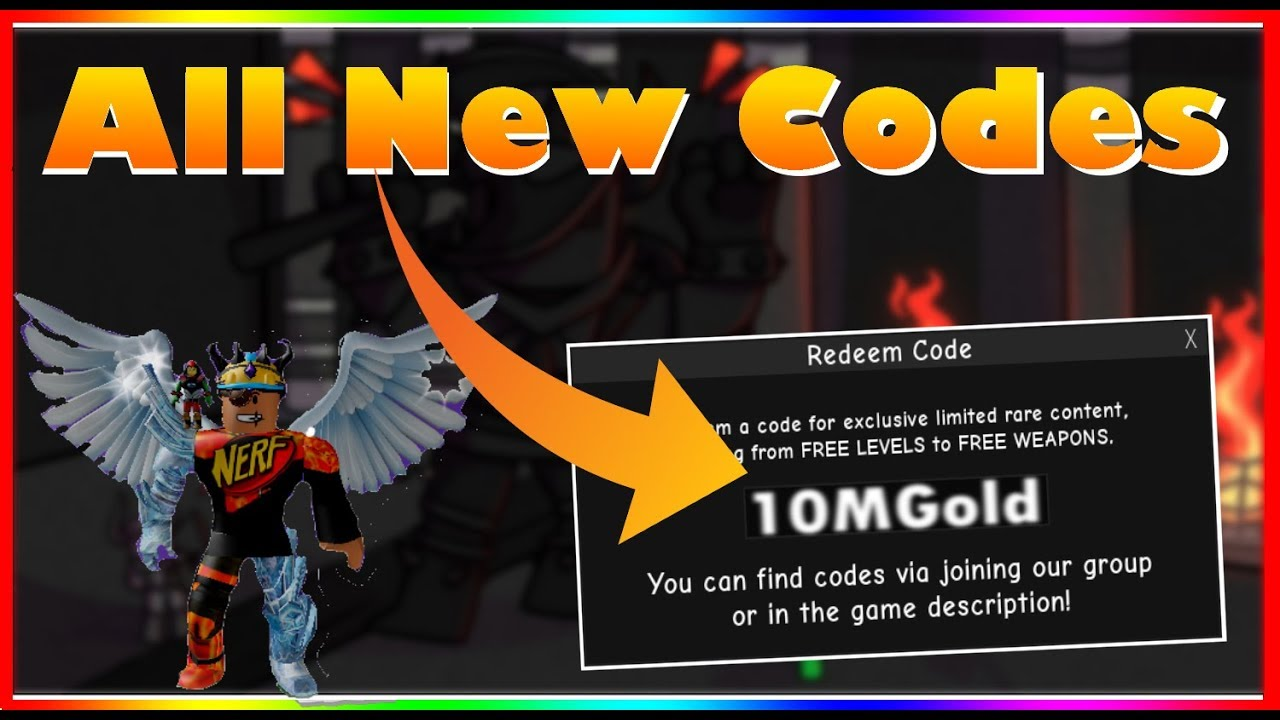 *ALL* New INFINITY RPG Codes! (2019) |ROBLOX