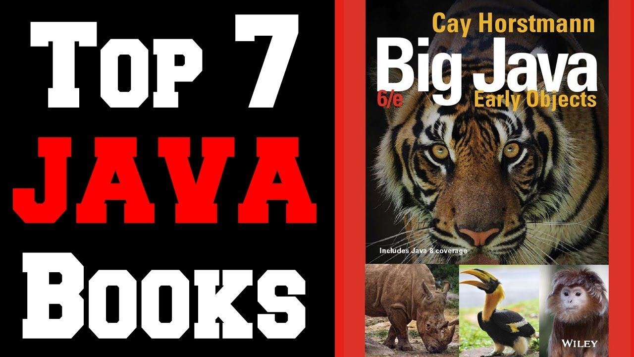 🔻Top 7 Best Java Programming Books!🔺[4K]