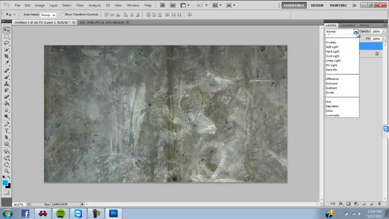 Photoshop to in how add texture
