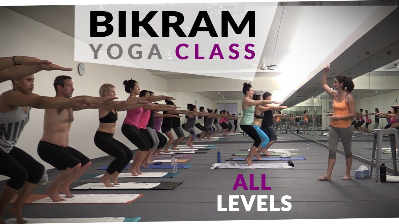 Bikram Yoga Workout 60 Minute Hot Yoga With Maggie Grove Youtube