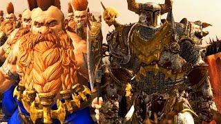 Chosen Versus Slayer ( Warriors Chaos Versus Dwarf) - Massive Battle Total War Warhammer