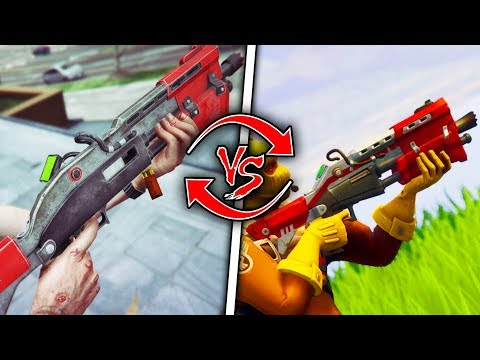 Top 10 Fortnite Weapons in Real Life