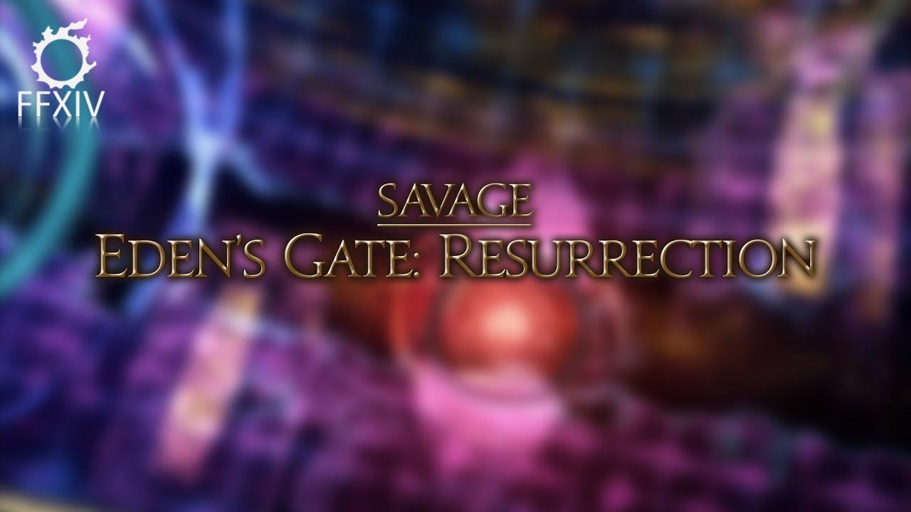 FFXIV Shadowbringers - Eden Prime Savage (E1S WHM POV)