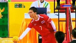 Malaysia - Thailand SepakTakraw 27th SEA Games 2013