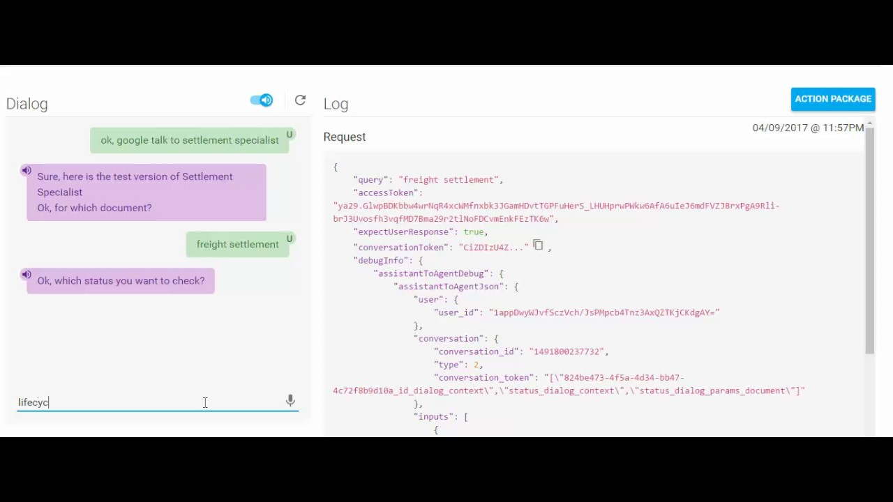 SAP Chatbot – Talk to SAP Applications with Google Home/Facebook