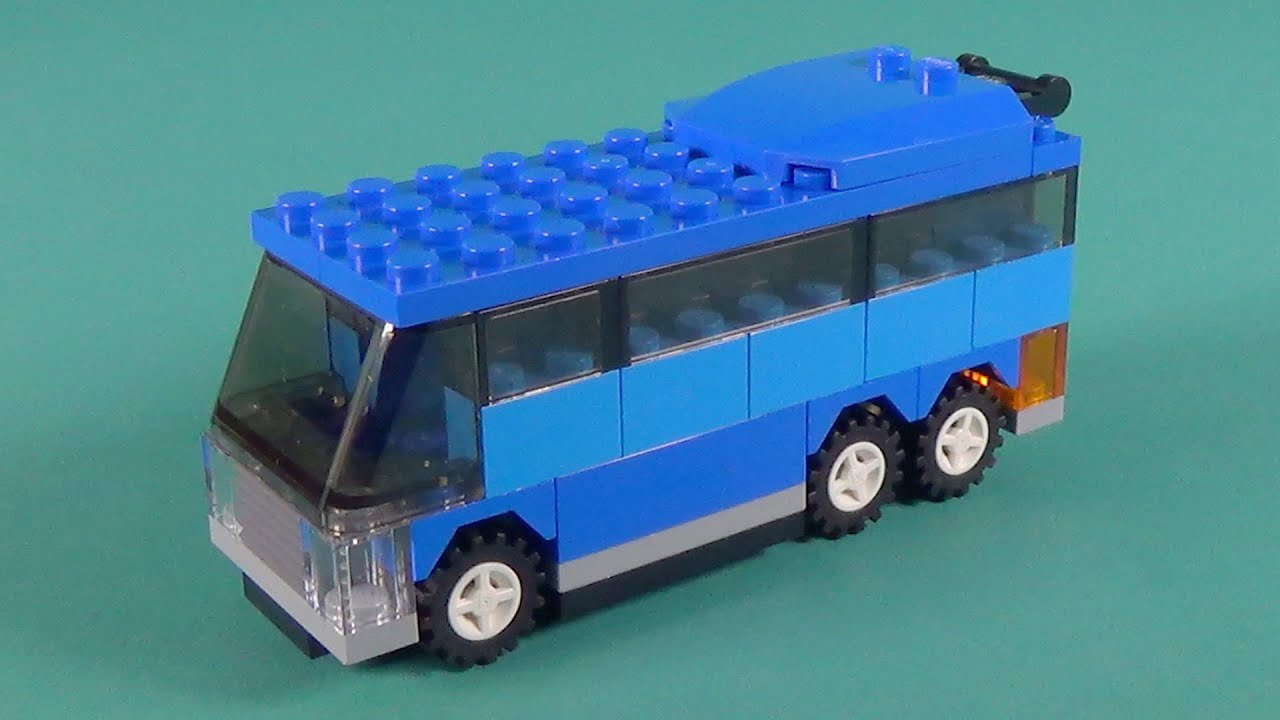 "Lego Bus Building Instructions - Lego Classic 10697 ""How ..."
