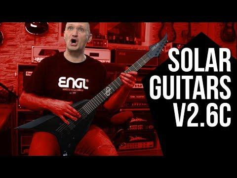 Solar Guitars V2.6C - A First Impression Review