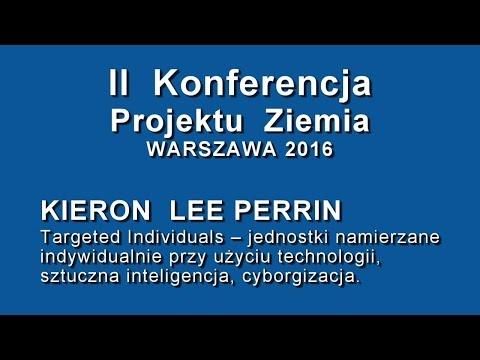 Kieron Lee Perrin Na II Konferencji Projektu Ziemia W Warszawie | 2016