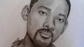 Dibujando a Will Smith