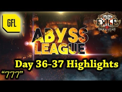 Path of Exile 3.1: War for the Atlas DAY #36-37 Highlights