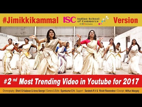 Jimikki Kammal  – Dance Perfomance by Indian School of Commerce