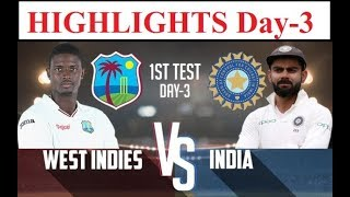 Kohli, Rahane Take Lead to 260 | India vs West Indies, 1st Test Day 3 Highlights | Ind Vs WI Match