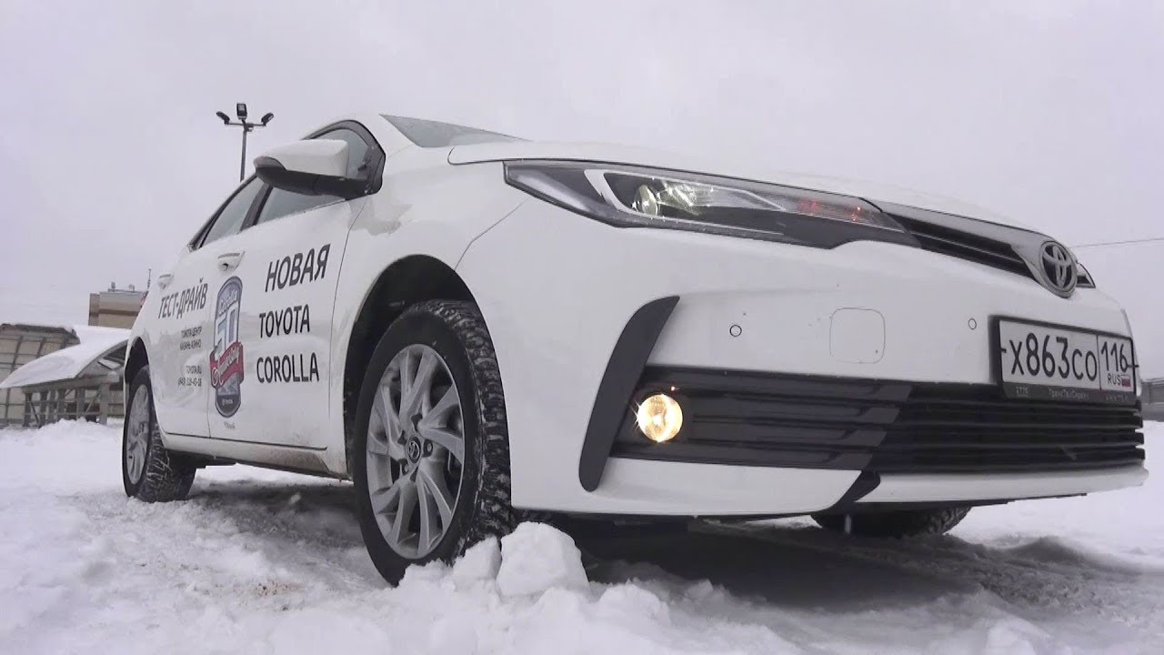 2018 Toyota Corolla 1.6 CVT Престиж. Обзор (интерьер, экстерьер, двигатель).