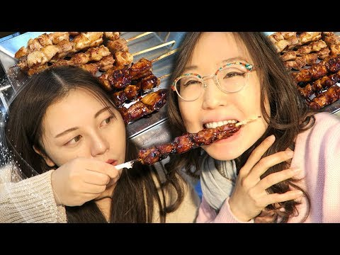 KOREAN STREET FOOD at Urim Market (ft Heyitsfeiii)