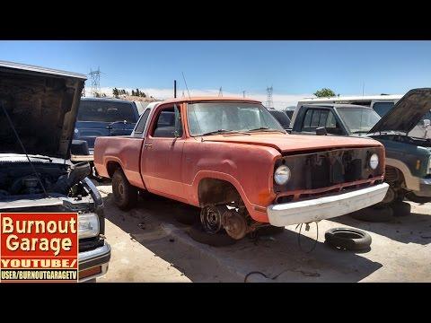 burnout garage car spotting 1975 dodge d200 youtube