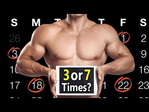 How Many Times a Week Should You Workout (3 or 7) | How often should you lift weights & do cardio?