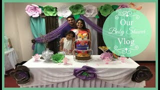 Our Baby Shower Vlog | DITL of a Pregnant Mom 2018 | Zen Chini Vlogs